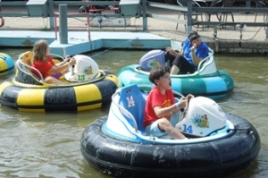 Andrews Academy - bumper boats